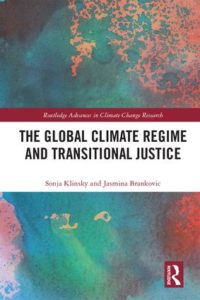 Cover of The Global Climate Regime and Transitional Justice