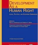<i>Development as a Human Right: Legal, Political, and Economic Dimensions</i> edited by Bard A. Andreassen and Stephen P. Marks