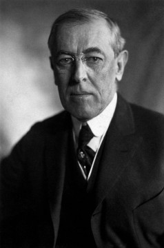 President Woodrow Wilson (Credit: Harris and Ewing, Public Domain/Wikimedia Commons).